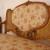 Aranyozott rokokó kanapé - Kép2